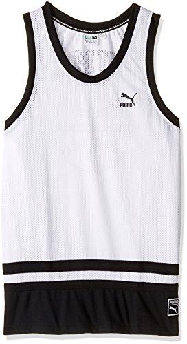 Puma Mens Bball Jersey Puma White