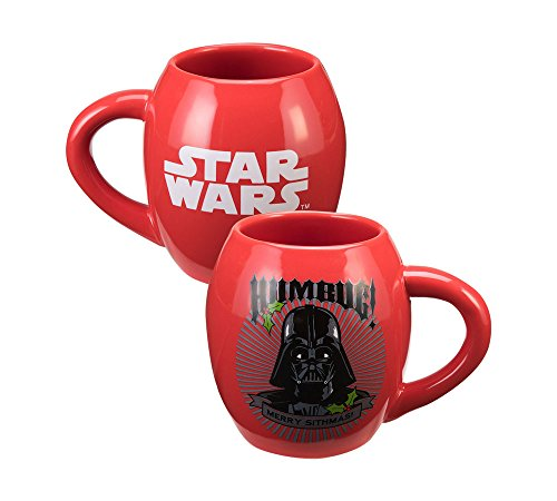 Vandor 99262 Star Wars Darth Vader 'Humbug' 18 oz Oval...