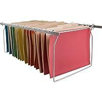 Carpetas de archivos colgantes Sparco Ancho del tamaño de la letra de acero inoxidable y longitud ajustable SPR60529