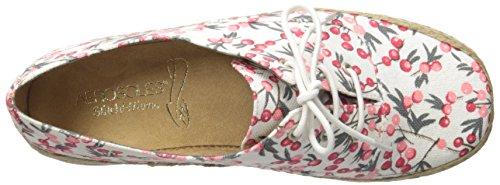 Aerosoles Women's Summer Sol Boat Shoe, Black Dot, 5 M US Floral Combo