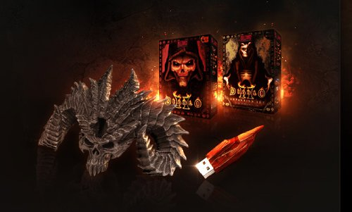 Galleon - Diablo 3 Collector's Edition USB Soulstone 4GB With Diablo II & Diablo II: Lords Of ...