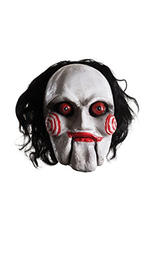 [Rubie's Men's Saw Billy Overhead Latex Mask, Multi, One Size] (Saw Movie Costumes)