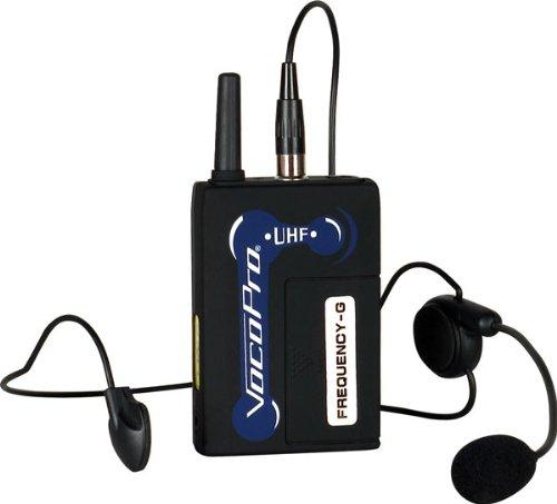 VocoPro UHFBP1K Headset for UHF-3200, UHF-3205, UHF-5800,...