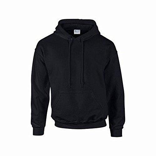 À Homme Vert Capuche Sweatshirt Gildan Sécurité Pour pABfBqd