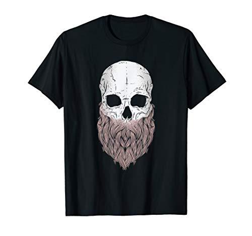 Bearded Skull - Halloween Costume Idea T-Shirt -