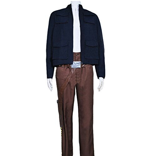 [CosplayDiy Men's Costume for Star Wars Han Solo Cosplay XXXL] (Han Solo Adult Costumes)