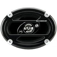 Scosche HD6903 6 x 9 Inches 400-Watt 3-Way Speakers