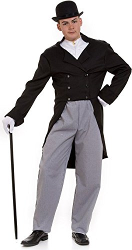 [dr watson adult costume size 42 medium] (Doctor Watson Costume)