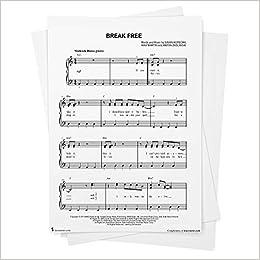 Break Free Sheet Music By Ariana Grande Easy Piano From Musicnotes Ariana Grande Ariana Grande Max Martin Amazon Com Books