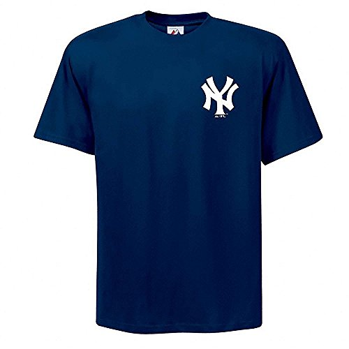 Majestic Adult MLB Replica Crewneck Team Jersey New York Yankees Large