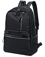 Business Notebook Laptop Backpack TEAMEN suitable for up to 15.6 inch (38 cm), Women and Men Waterproof Daypacks School Bag Colour: black