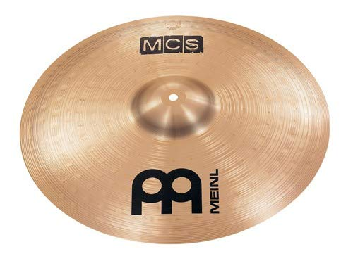 Meinl 18'' Crash/Ride Cymbal - MCS Traditional Finish Bronze for Drum Set, Made In Germany, 2-YEAR WARRANTY (MCS18CR)