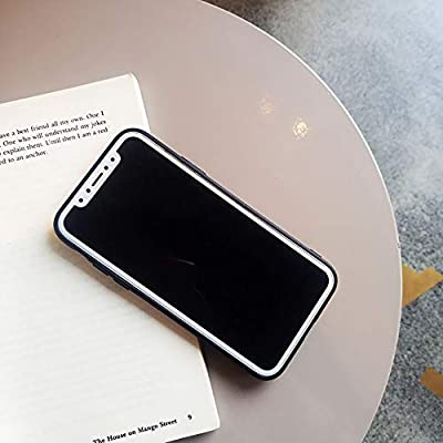 Twnhmj Funda iPhone XS Caja iPhone 7/8 Ultradelgado TPU Silicona ...