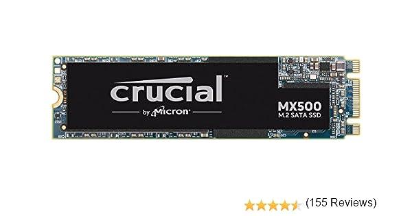 Crucial CT500MX500SSD4 MX500 - Disco duro sólido interno SSD de 500 GB (M.2 2280, 3D NAND, SATA)