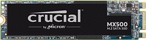 (Crucial MX500 500GB 3D NAND SATA M.2 Type 2280SS Internal SSD - CT500MX500SSD4)