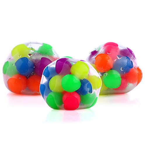 DNA Stress Relief Ball - 3 Pack- Squeezing Balls- Sensory Stress Balls For Kids & Adults- Ideal Sensory Toy for Autism, Anxiety, ADHD & More Photo #2