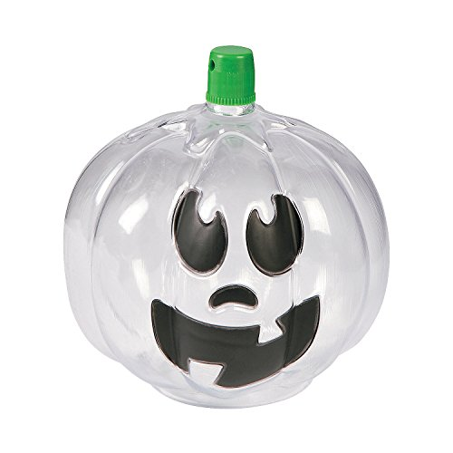 Pumpkin Jack-O'-Lantern Sand Art Bottles (Sand Bottle)