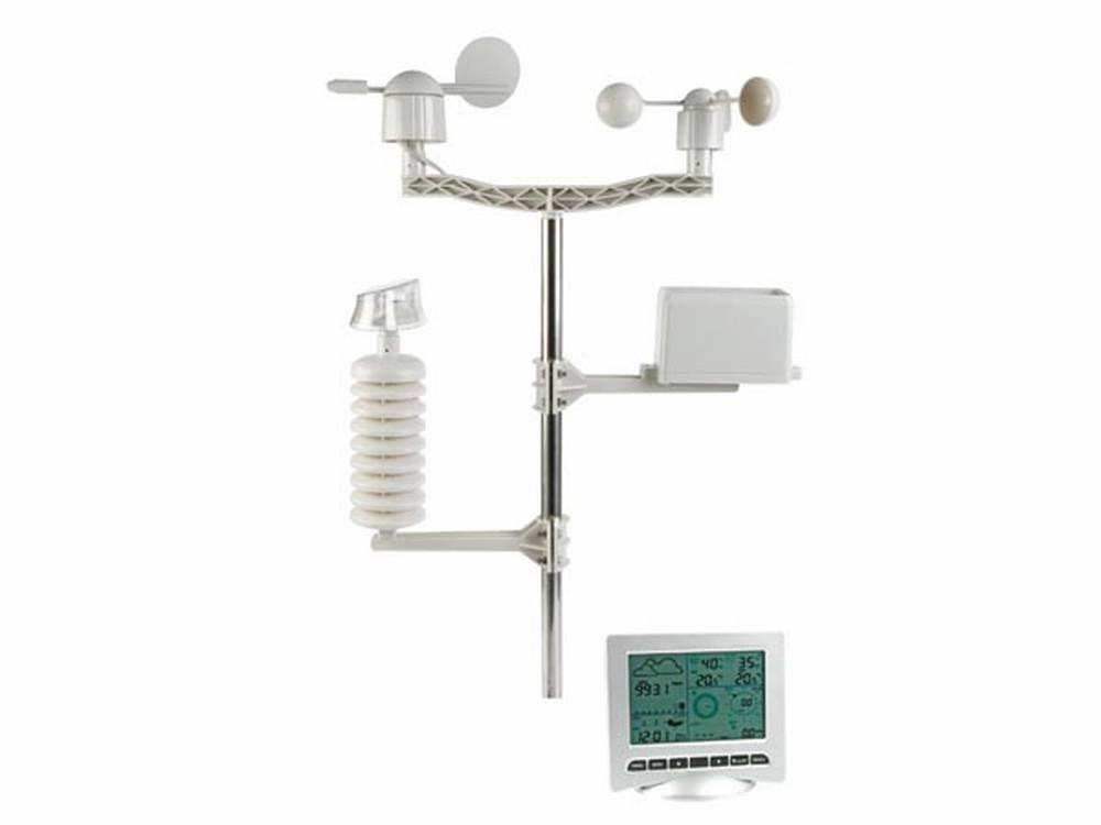 Estación Meteorológica Solar + Conex.PC