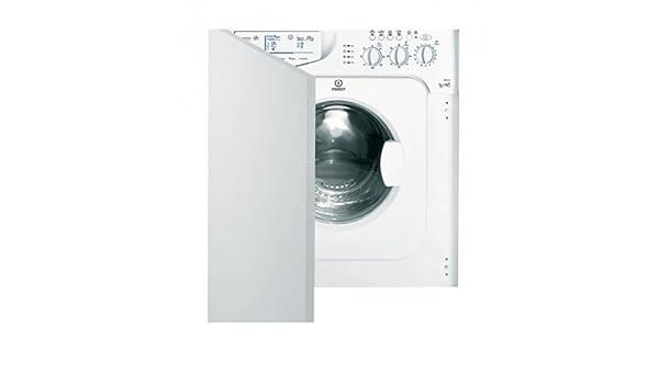 Indesit I WDE 127 Integrado Carga frontal B Color blanco lavadora ...