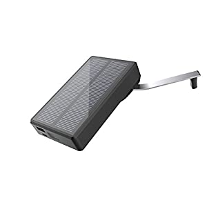 411cFWLQQEL. SS300  - Solar Charger MAXOAK 7800mAh Solar Power Bank Portable Hand Crank USB External Battery Pack for Smartphone iPhone Samsung Android phones GoPro Camera GPS Tablet and More