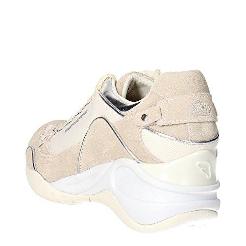 Fornarina PEFSE6432WVA0901 Zapatillas De Deporte Mujer Gamuza/tejido Blanco Blanco - blanco