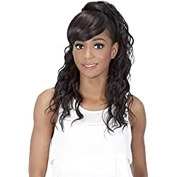 Vivica A Fox Hair Collection BP Kennedi Bang N Pony in Color Wig, 1, 5.20 Ounce