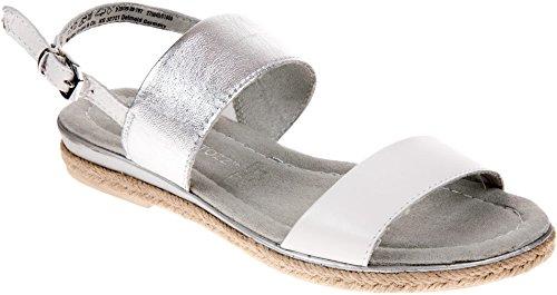 Marco Tozzi 28129 Women's Sandal White POYVDrT7JB