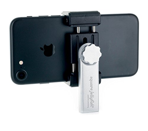 Square jellyfish iPhone compatible tripod mount metal version by Square Jellyfish