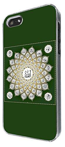 786 - Names of Allah 99 Names Muslim God Design iphone 5 5S Coque Fashion Trend Case Coque Protection Cover plastique et métal