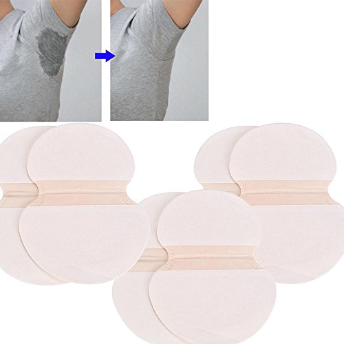 FTXJ 30pcs Underarm Adhesive Armpit Sweat Perspiration Pad Antiperspirant Deodorant Dress Clothing Shield Pure Adhesive Remover