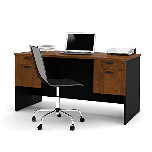 Bestar - HomePro 69000 Executive Desk - Tuscany Brown and (Brown Tuscany Executive Desk)