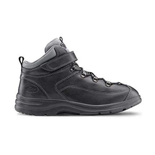 Dr. Comfort Vigor Women's Therapeutic Diabetic Extra Depth Hiking Boot: Black 8.5 Medium (A-B) Lace