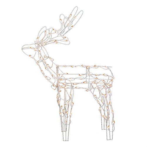 Outdoor Lighted Reindeer For Christmas - 2