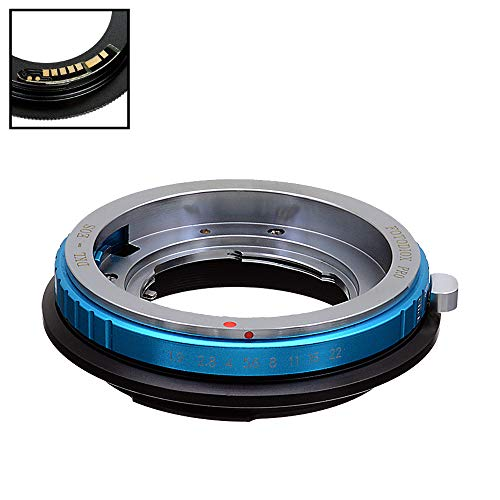 Fotodiox Pro Lens Mount Adapter Compatible with Deckel-Bayonett (Deckel Bayonet, DKL) SLR Lens to Canon EOS (EF-S) Mount SLR Camera Body - with Gen10 Focus Confirmation Chip