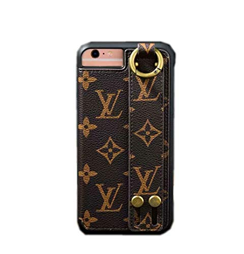 Price comparison product image HWSH iPhone Xs Case, iPhone X Case, Fashion Business Style PU Leather Back Card Slots Function with Wristlet Strap Case for iPhone Xs / X 5.8-inch