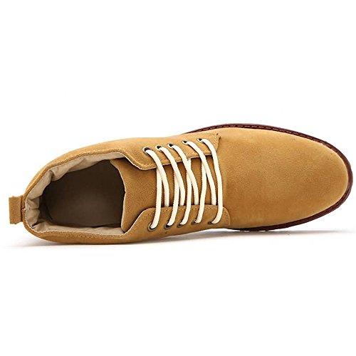 Jiuyue scamosciata in Giallo uomo Stivali originali da Scarpe pelle uomo Stivali Storm classici shoes Stivali 2018 da Desert Chukka r1wx0rfq