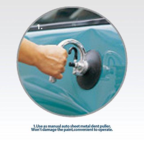 Outils de coupe Auto Ventouse/Pad dent Extracteur/Lifter 75mm en verre et en mouvement avec poignée de transport en aluminium