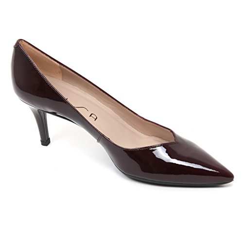Shoe B7704 Kun Scarpa Woman Bordeaux Unisa Vernice Donna Decollete p7Opazf1
