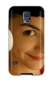 Best For Galaxy S5 Fashion Design Audrey Tautou As Amelie Case