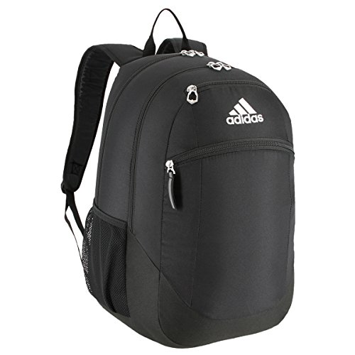 adidas Unisex Striker II Team Backpack, Black/White, One Size