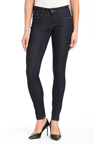 Mavi Women's Alexa Mid-Rise Skinny Jeans, Rinse Supersoft, 29W X 32L