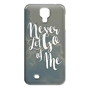 Loud Universe Samsung Galaxy S4 Never Let Go Of Me Print 3D Wrap Around Case - Gray/White