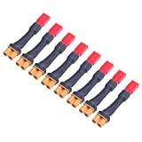#10: 8pcs JST to XT30 Connector Adapter for JST Converting to XT30 Plug of RC LiPo Battery