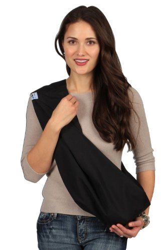 HugaMonkey Outdoor Travel Black Baby Sling – Small Review
