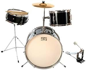 Session Pro 3pc Junior Kit Black - Set de batería  infantil, color negro