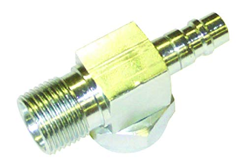 (R134 Roto Lock Service Valve With # 10 Male Insert O-Ring Thread)
