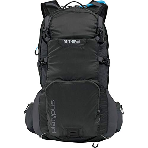 Platypus Duthie AM Utility Hydration Backpack, 15.0-Liter, Carbon ()
