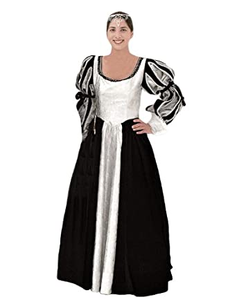 56b1797d13b Amazon.com  Deluxe Plus Size Medieval Queen Theatrical Quality Costume