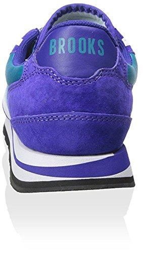 Brooks Mens Chariot Turquoise/Purple/White AcXEapUf9P
