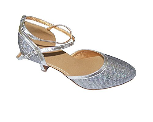 Purple WaterCube Ballroom shoes Blue modern colorful Dance Pink Silver Gold Lady Colorful 55rx0Awf